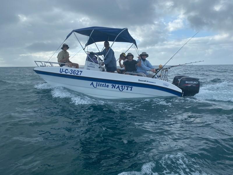 George Halliday Fishing Safari Boat
